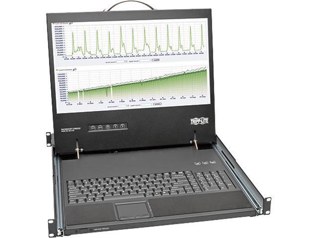 TRIPP LITE B021-000-19-SH 1U Short-Depth Rackmount Console with 19