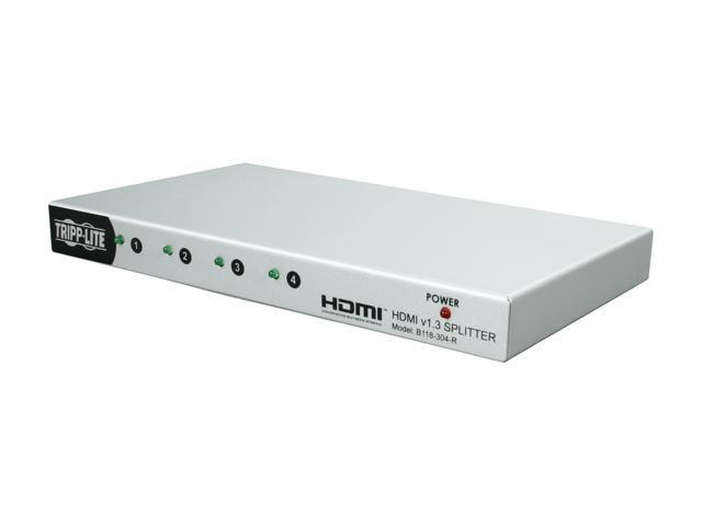 Tripp Lite 4 Port HDMI v1.3 Splitter B118-304-R
