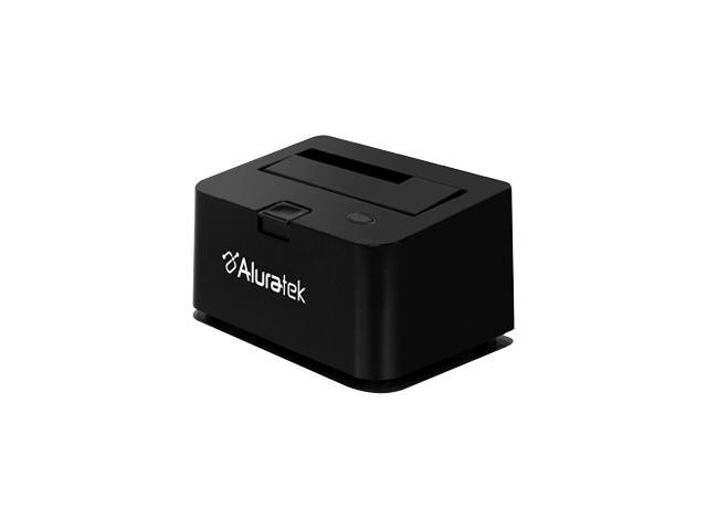 "Aluratek AHDDU100F 2.5"" / 3.5"" Black SATA I / II USB 2.0 External Docking Station Enclosure"