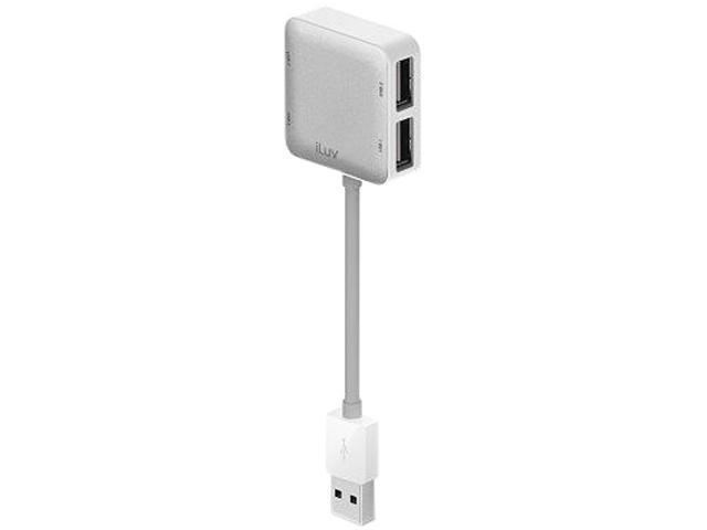 iLuv iCB709WHT 4-Port USB Hub