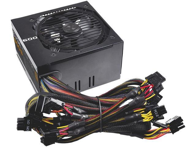 EVGA 600B 100-B1-0600-KR 600W ATX12V / EPS12V 80 PLUS BRONZE Certified Power Supply