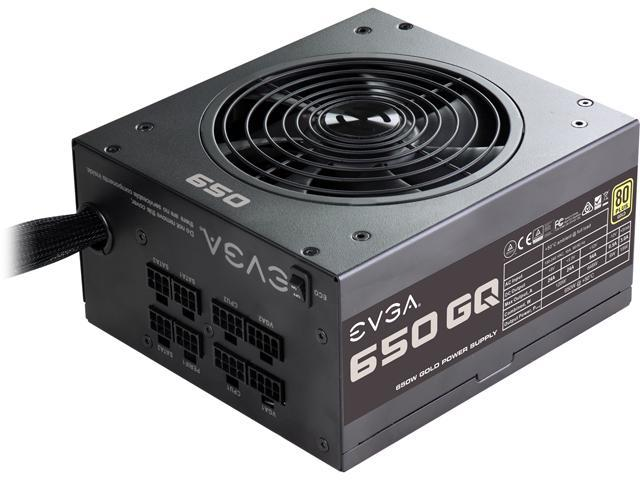 EVGA 210-GQ-0650-V1 650W ATX12V / EPS12V SLI Ready CrossFire Ready 80 PLUS GOLD Certified Power Supply