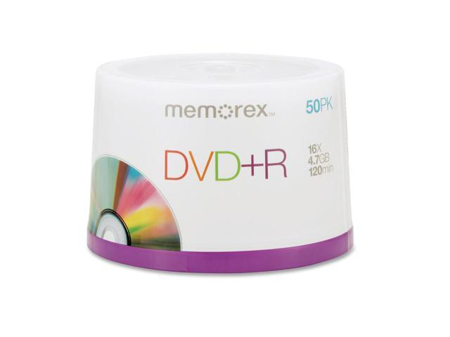 memorex 4.7GB 16X DVD+R 50 Packs Disc Model 05619