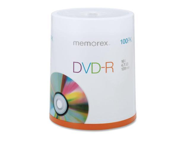 memorex 4.7GB 16X DVD-R 100 Packs Disc Model 05641
