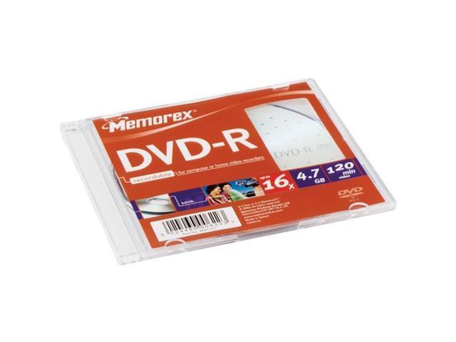 memorex 4.7GB 16X DVD-R 10 Packs Disc Model 05669