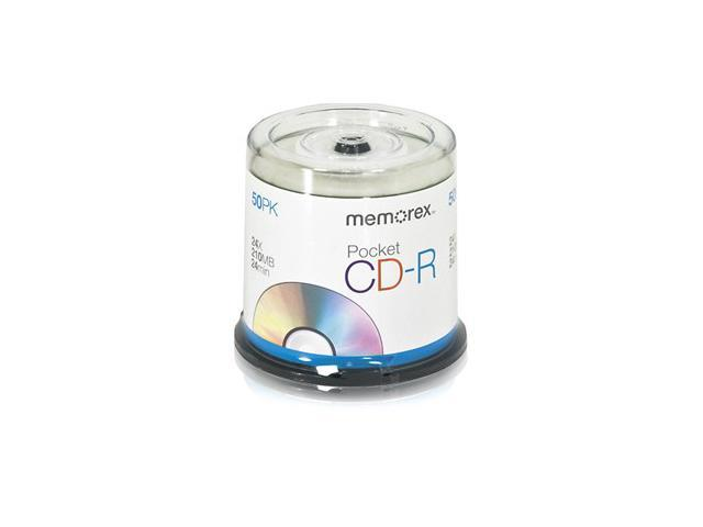 memorex 210MB 24X CD-R 50 Packs Media Model 04702