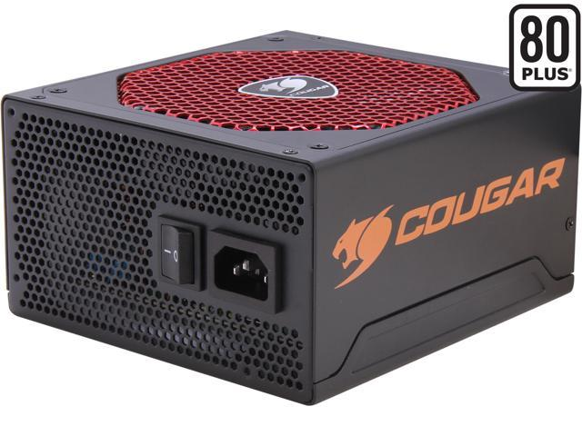 COUGAR RX500 500W ATX12V SLI Ready CrossFire Ready 80 PLUS Certified Active PFC Power Supply Haswell ready