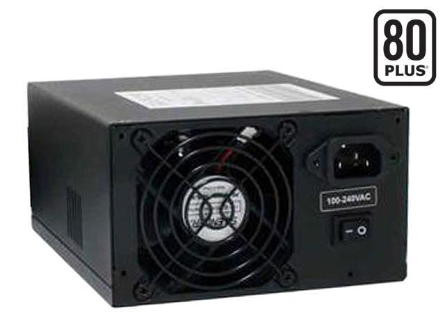 PC Power and Cooling S61EPS 610W Continuous @ 40°C EPS12V SLI Certified CrossFire Ready 80 PLUS Certified Active PFC Power Supply compatible with core i7