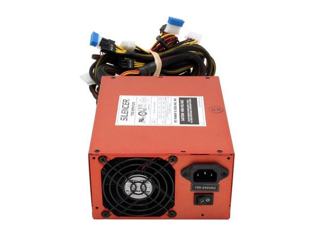 PC Power & Cooling Silencer 750 Quad - Copper 750W Continuous @ 40°C (825W Peak) EPS12V SLI Certified CrossFire Ready Active PFC Power Supply