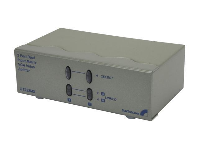 StarTech 2x2 High Resolution Matrix VGA Video Switch ST222MX