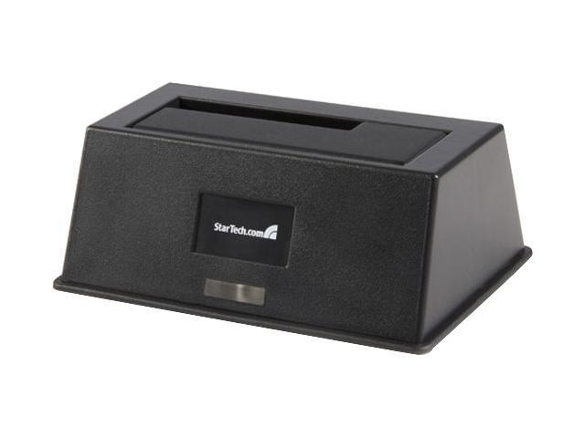 StarTech SATADOCKU2 Black External HDD Dock