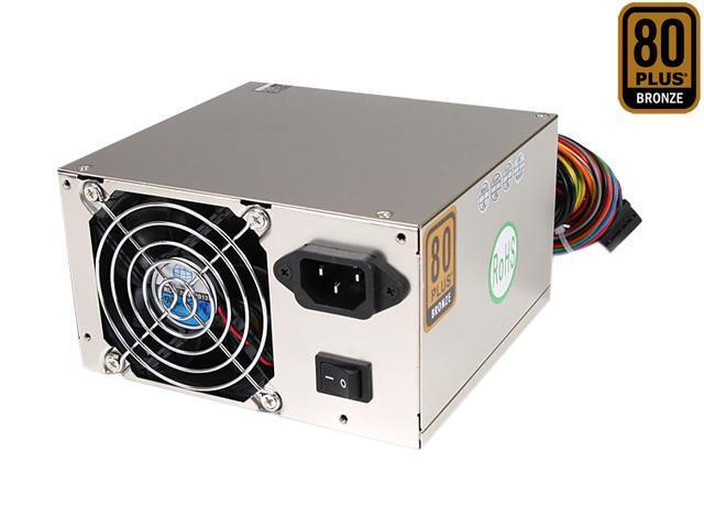 StarTech ATX2PW530PRO 530W (Peak 600W) ATX12V v2.3 / EPS12V v2.91 80 PLUS BRONZE Certified Active PFC Power Supply