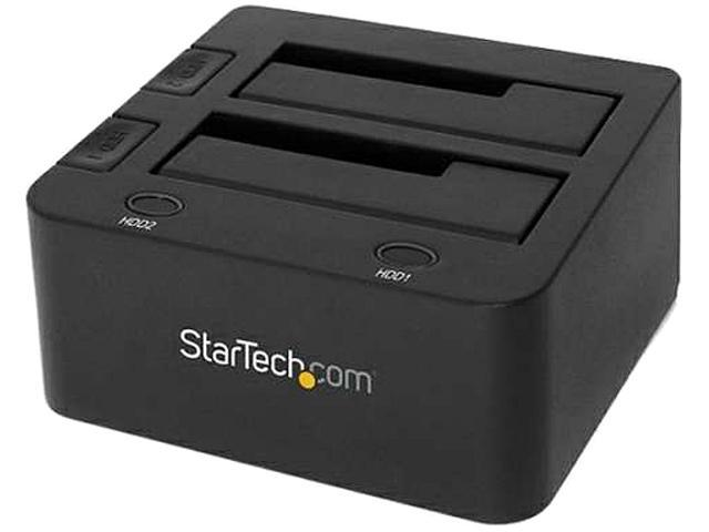 StarTech.com USB 3.0 Dual Hard Drive Docking Station with UASP for 2.5/3.5-Inch HDD/SSD SATA 6 Gbps (SDOCK2U33)