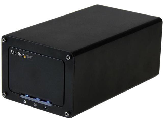 StarTech.com USB 3.1 Gen 2 (10Gbps) External Enclosure for Dual 2.5