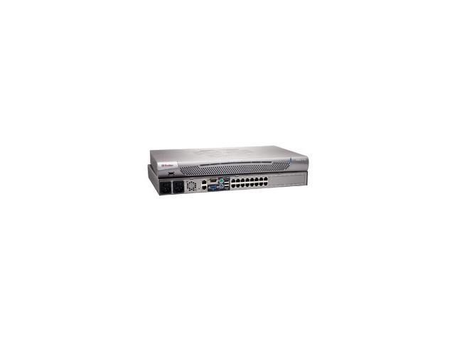 Raritan Dominion KX II-116 16-Port KVM-Over-IP Switch