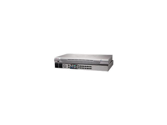 Raritan Dominion KX II-416 KVM-over-IP Switch (4 Remote Users, 1 Local User)