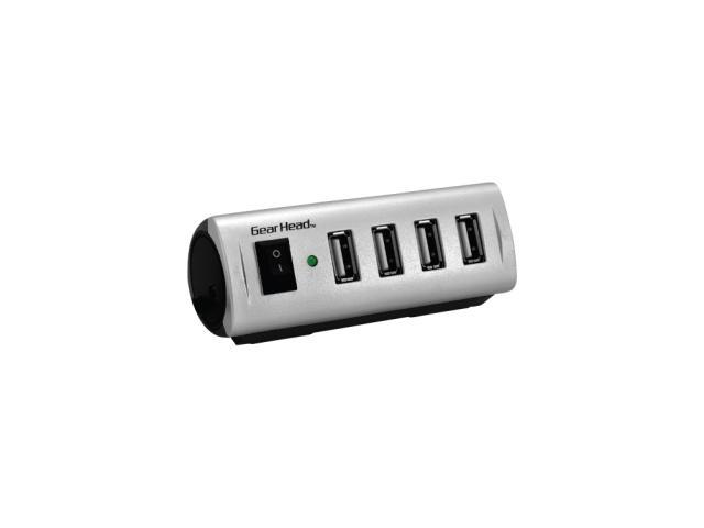 GearHead UH5500ESP Energy Saving 4-Port USB 2.0 Hub