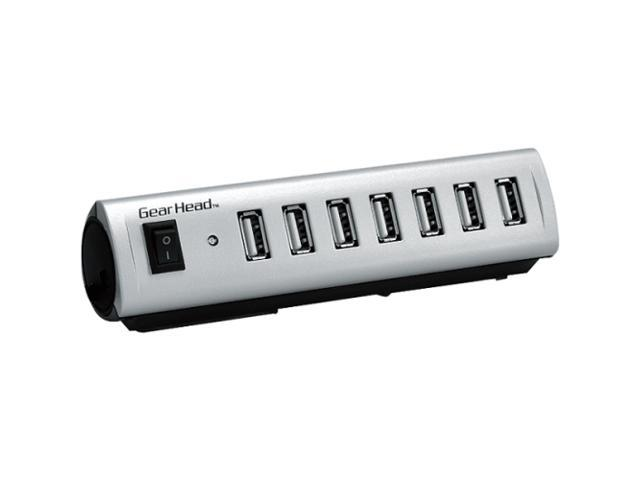GearHead UH7500ESP Energy Saving 7-Port USB 2.0 Hub