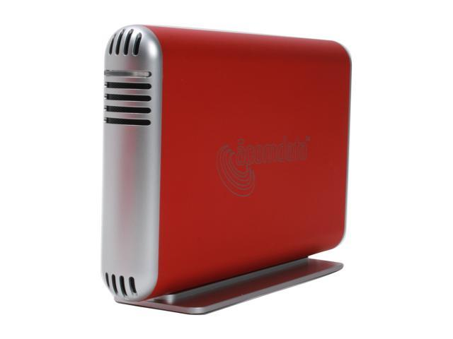 "acomdata SMBXXXU2E-Red Aluminum 3.5"" Radiant Red USB 2.0 Samba Enclosure Kit"