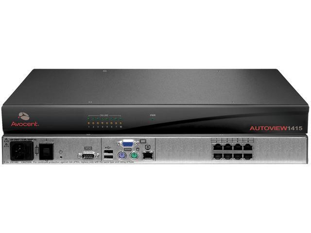 Avocent AV1415-001 AutoView AV1415 KVM Switch