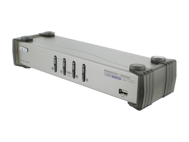 ATEN CS1744 4-Port Dual-View KVMP Switch
