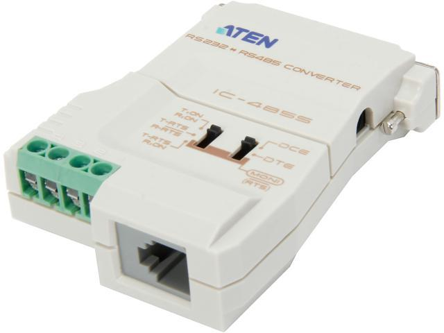 Aten IC485S RS-232 to RS-485/RS-422 Bidirectional Converter