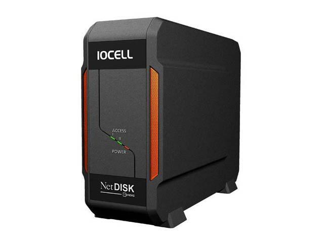 IOCell Networks 352ND Ethernet 2 Bay NDAS Network Enclosure