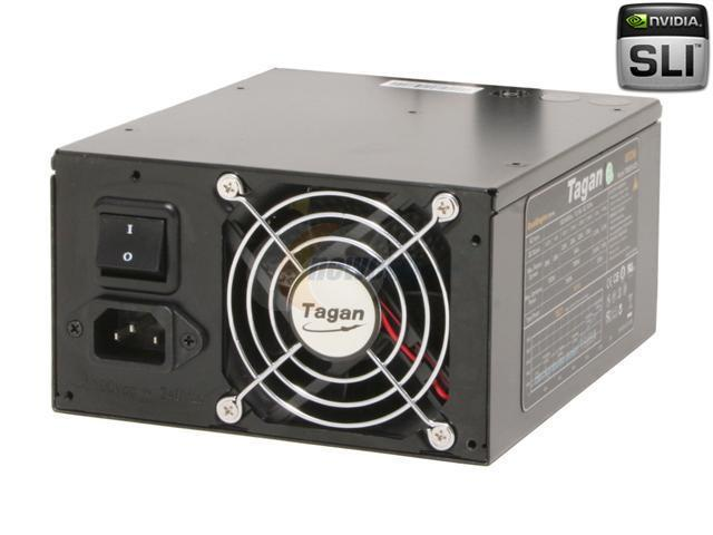 Tagan TG800-U25 800W ATX12V / EPS12V SLI Certified CrossFire Ready 80 PLUS BRONZE Certified Active PFC Power Supply