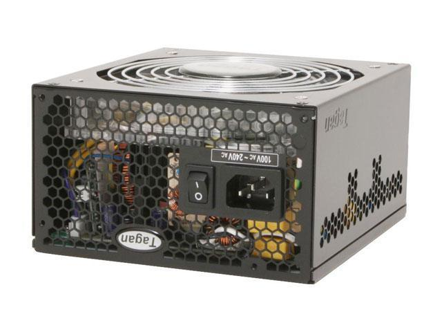Tagan TG500-U35 500W ATX12V / EPS12V SLI Ready 80 PLUS Certified TMI(Tagan Modular Interface) Active PFC Power Supply