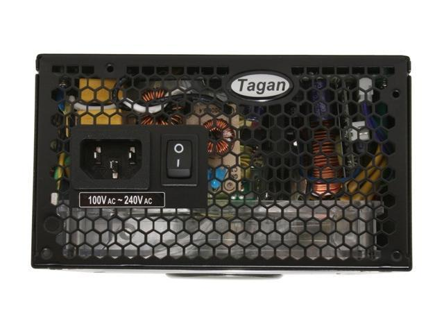 Tagan TG600-U35 600W ATX12V / EPS12V SLI Certified CrossFire Ready 80 PLUS Certified TMI(Tagan Modular Interface) Active PFC Power Supply