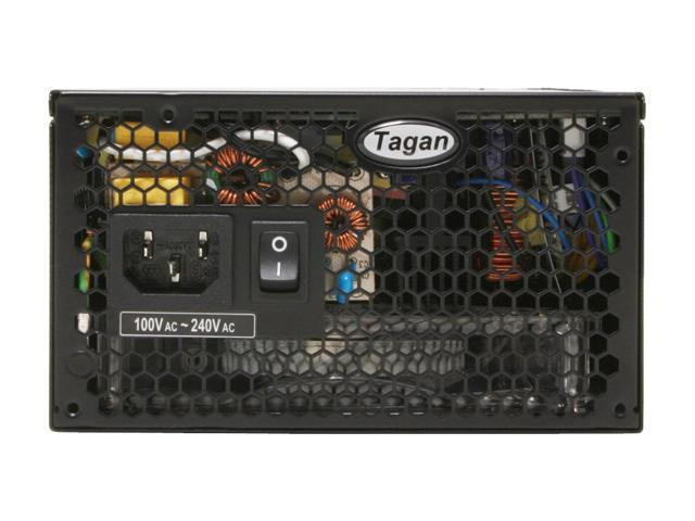 Tagan TG700-U35 700W ATX12V / EPS12V SLI Certified CrossFire Ready 80 PLUS Certified TMI(Tagan Modular Interface) Active PFC Power Supply