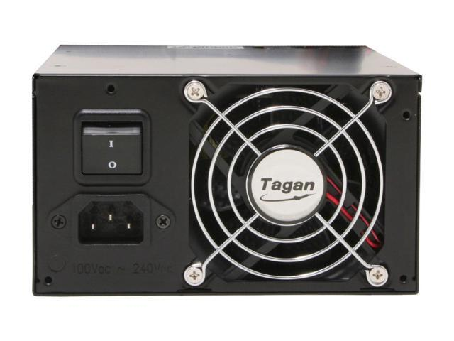 Tagan TG700-U25 700W ATX12V / EPS12V SLI Certified CrossFire Ready 80 PLUS Certified Active PFC Power Supply