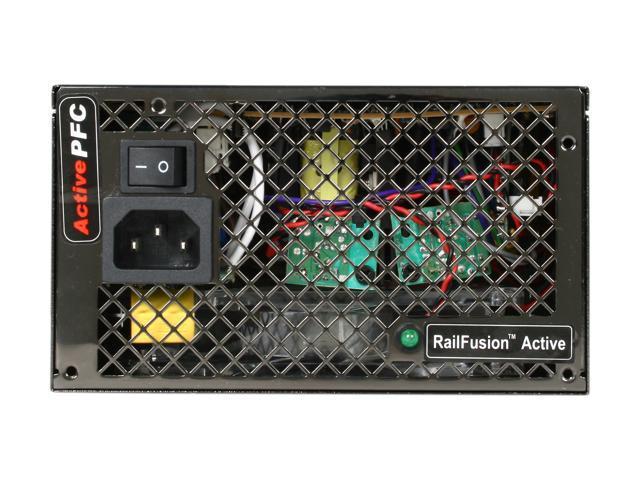 Mushkin Enhanced 550250 580W ATX12V / EPS12V SLI Certified CrossFire Ready Modular Active PFC Power Supply