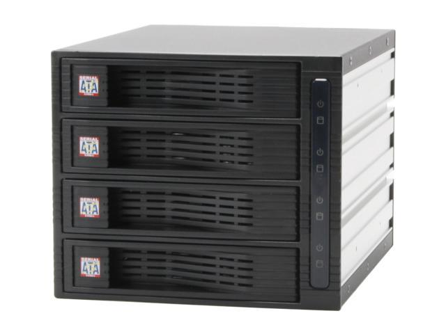 "KINGWIN KF-4000-BK 3.5"" Internal hot swap rack raid-4 bay"