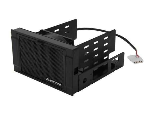 Evercool HD-AR-RBK HDD Cooling Box for Three 3.5 HDD or Four 2.5 HDD