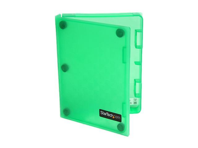 StarTech HDDCASE25GN 2.5in Anti-Static Hard Drive Protector Case - Green (3pk)