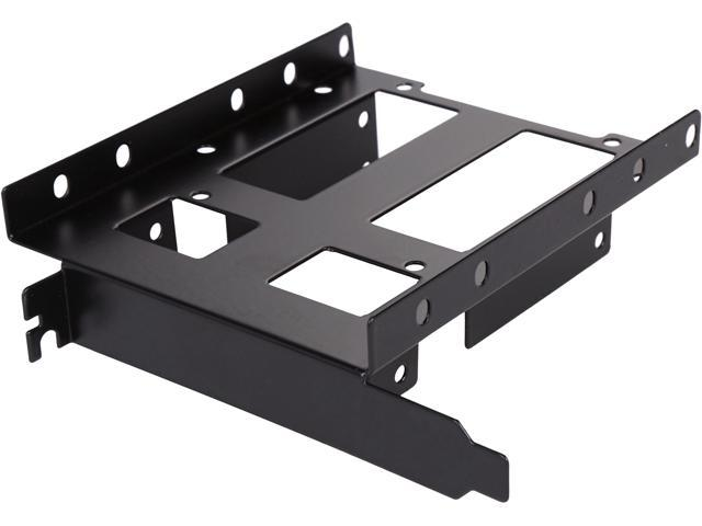 SYBA SY-ACC25050 PCI Slot SSD / HDD Bracket, Support 2 x 2.5