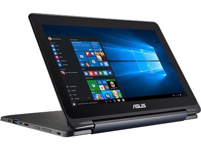 ASUS Laptop Transformer Book Flip TP200SA-EDU Intel Celeron N3050 (1.60 GHz) 4 GB Memory 64 GB SSD Intel HD Graphics 11.6