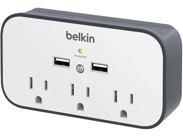 BELKIN BSV300TTCW 3 Outlets 300 joule Surge Suppressor