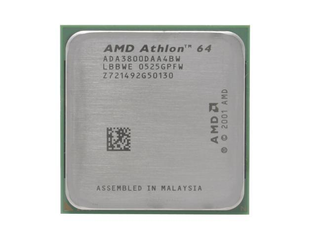 AMD Athlon 64 3800+ Venice 2.4GHz Socket 939 89W Single-Core Processor ADA3800DAA4BW - OEM