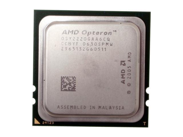 AMD Opteron 2220SE Santa Rosa 2.8GHz 2 x 1MB L2 Cache Socket F 119W Dual-Core Server Processor OSY2220GAA6CQ - OEM