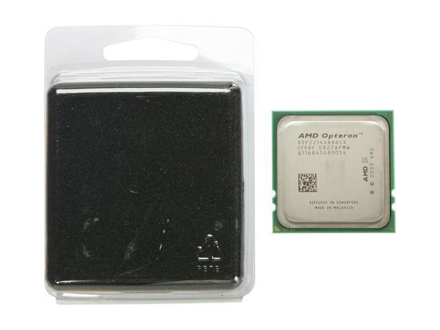 AMD Opteron 2214HE Santa Rosa 2.2GHz 2 x 1MB L2 Cache Socket F 68W Dual-Core Server Processor OSP2214GAA6CX - OEM
