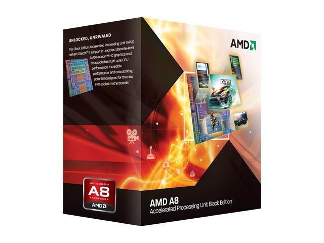 AMD A8-3870K Unlocked Llano 3.0GHz Socket FM1 100W Quad-Core Desktop APU (CPU + GPU) with DirectX 11 Graphic AMD Radeon HD 6550D AD3870WNGXBOX