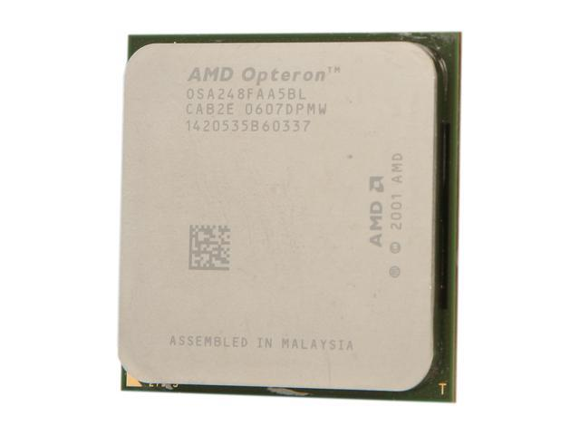 AMD Opteron 248 2.2 GHz Socket 940 89W OSA248FAA5BL Server Processor