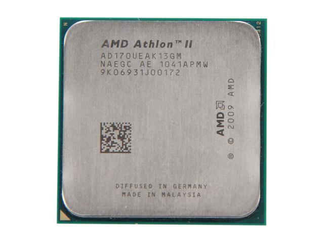 AMD Athlon II 170u Regor Single-Core 2.0 GHz Socket AM3 20W AD170UEAK13GM Desktop Processor
