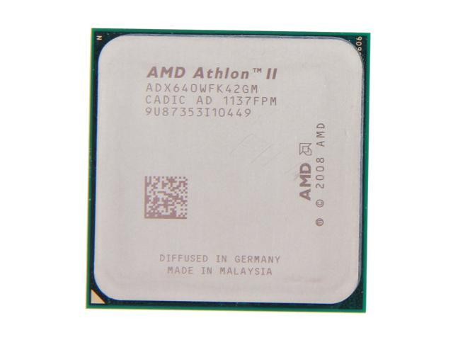 AMD Athlon II X4 640 Propus Quad-Core 3.0 GHz Socket AM3 95W ADX640WFK42GM Desktop Processor