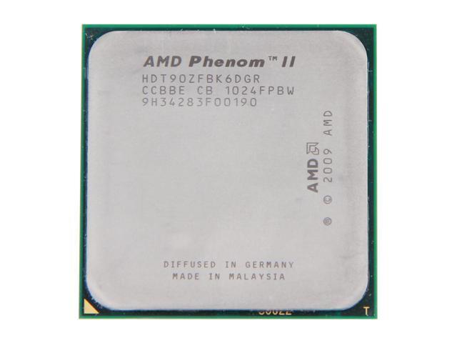 AMD Phenom II X6 1090T Thuban 6-Core 3.2GHz (3.6GHz Turbo Boost) Socket AM3 125W HDT90ZFBK6DGR Desktop Processor