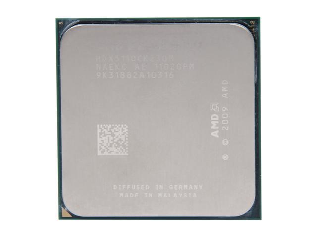 AMD Phenom II X2 511 Regor Dual-Core 3.4 GHz Socket AM3 65W HDX511OCK23GM Desktop Processor