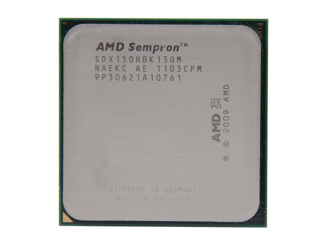 AMD Sempron 150 Sargas Single-Core 2.9 GHz Socket AM3 45W SDX150HBK13GM Desktop Processor