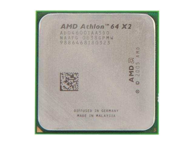 AMD Athlon 64 X2 4600+ Brisbane Dual-Core 2.4 GHz Socket AM2 ADO4600IAA5DO Desktop Processor